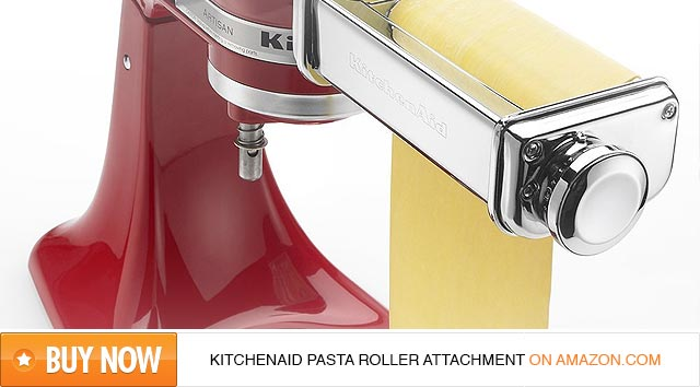 KitchenAid KPSA Pasta Roller Attachment Review - FabulousPasta