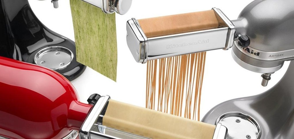 KitchenAid Spaghetti, Lasagna and Fettuccine cutter and roller